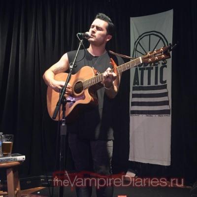 """Выступление Майкла Маларки в баре """"Eddie's Attic"""" в Атланте [26 июля]"""