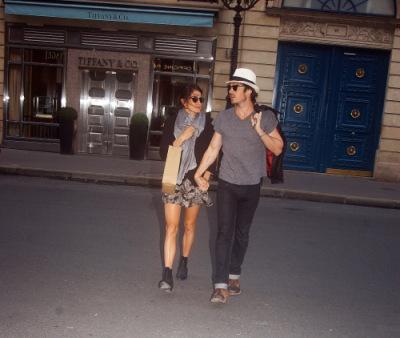 Йен и Никки Рид в Париже [25 мая]