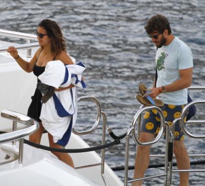 Нина и Остин Стоуэлл в Монако [25 июля]