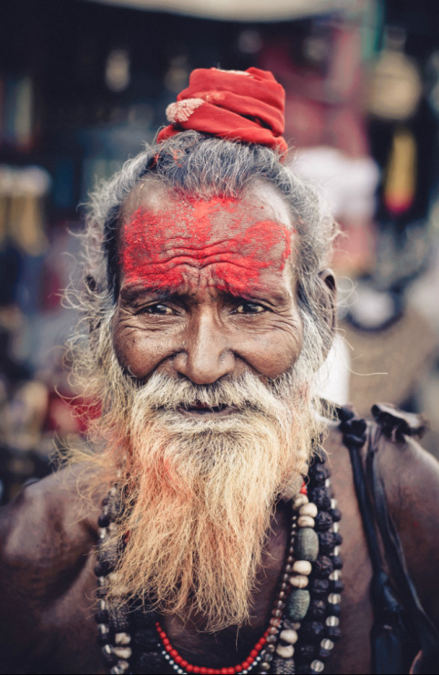 Индийские садху, фото