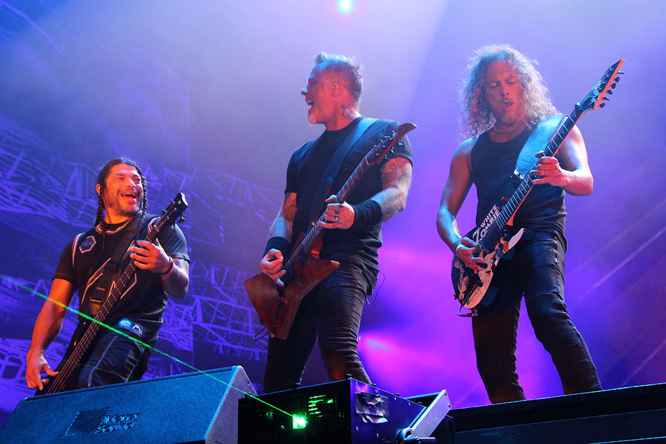 the history of the band metallica