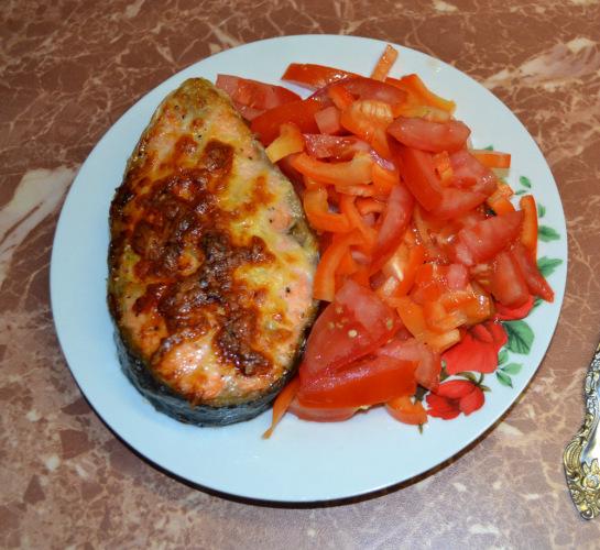Кухня: Форель гриль