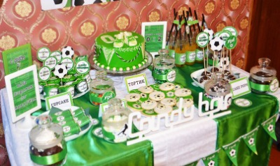 Сценарий дня рождения в стиле футбола 145