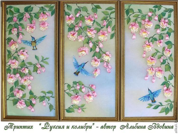 Триптих картины своими руками фото